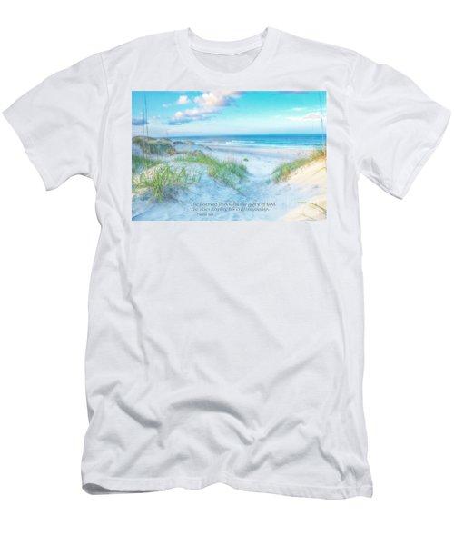 Beach Scripture Verse  Men's T-Shirt (Athletic Fit)