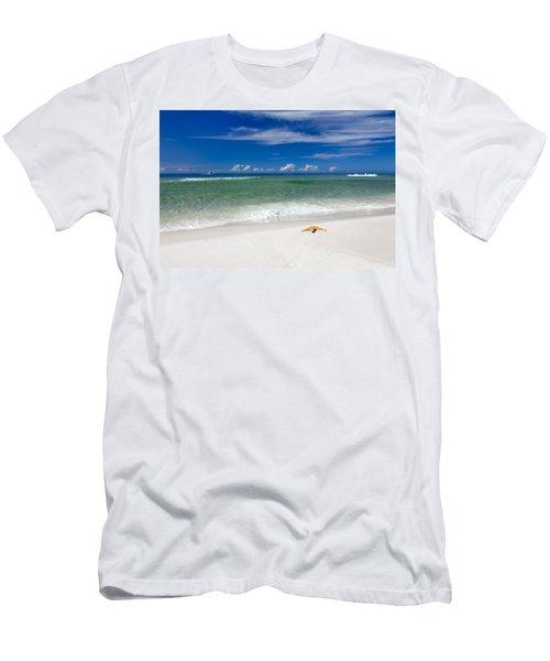 Beach Splendour Men's T-Shirt (Athletic Fit)