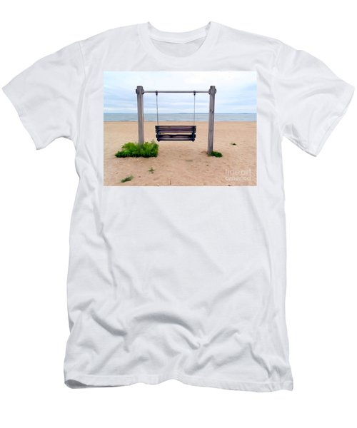 Beach Swing Men's T-Shirt (Athletic Fit)