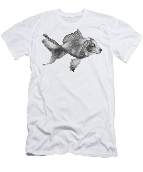 Beaglefish Men's T-Shirt (Athletic Fit)