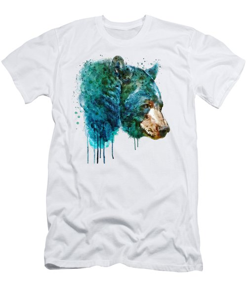 Bear Head Men's T-Shirt (Athletic Fit)