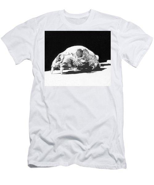 Bear Skull Men's T-Shirt (Athletic Fit)