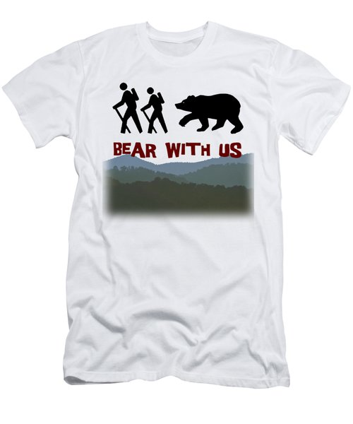 Bear With Us Men's T-Shirt (Athletic Fit)
