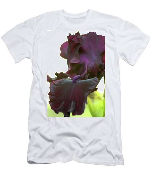 Men's T-Shirt (Athletic Fit) featuring the photograph Bearded Beauty by Deborah  Crew-Johnson
