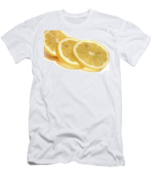Beat The Heat With Refreshing Fruit Men's T-Shirt (Slim Fit) by Nick Mares
