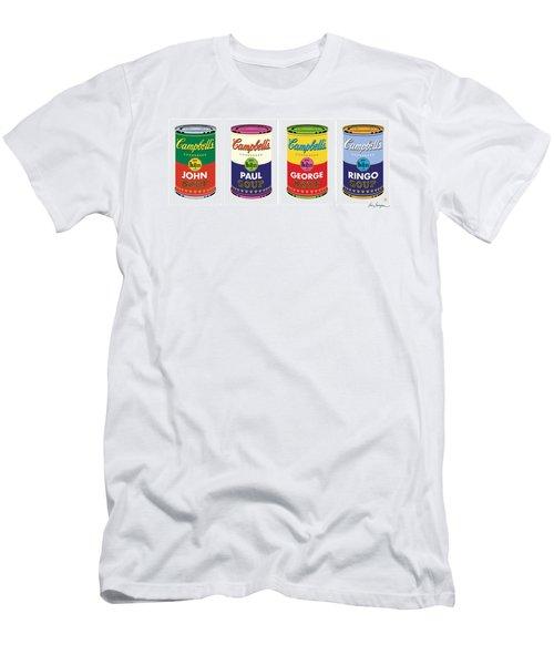 Beatle Soup Cans Men's T-Shirt (Athletic Fit)