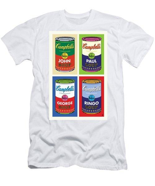 Beatles Soup Men's T-Shirt (Athletic Fit)