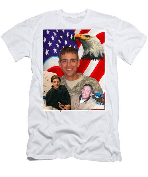 Beautiful Hero Men's T-Shirt (Athletic Fit)