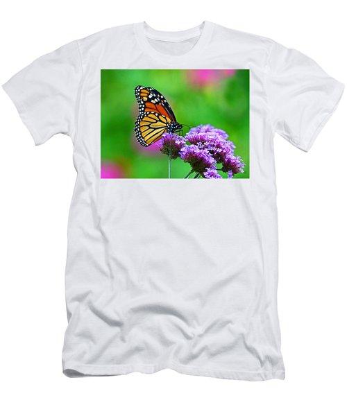 Beautiful Monarch Men's T-Shirt (Athletic Fit)