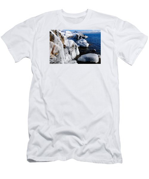 Beautiful Superior Ice Men's T-Shirt (Slim Fit) by Sandra Updyke