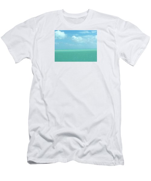 Men's T-Shirt (Slim Fit) featuring the photograph Beautiful Waters by Robin Regan