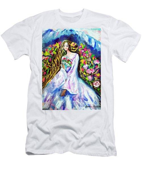 Beautiful World Men's T-Shirt (Athletic Fit)