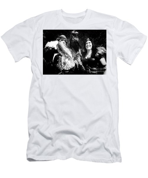 Men's T-Shirt (Slim Fit) featuring the photograph Beauty And The Beasts by Bob Christopher