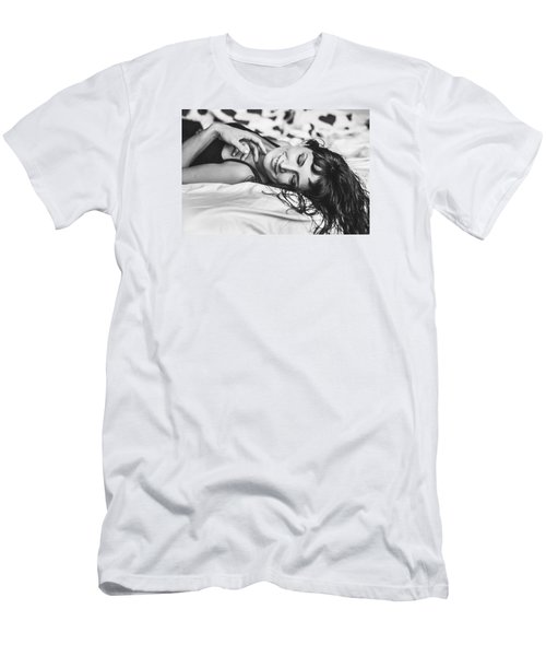 Bed Portraits Men's T-Shirt (Athletic Fit)