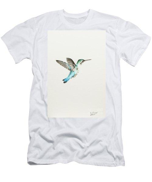 Bee Hummingbird Men's T-Shirt (Athletic Fit)