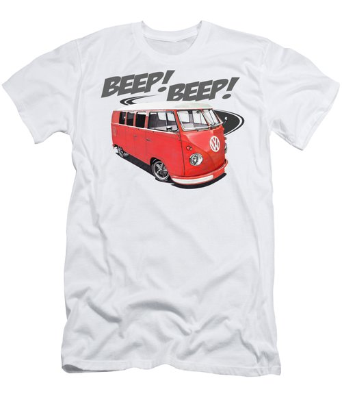Beep Beep Bus Men's T-Shirt (Athletic Fit)