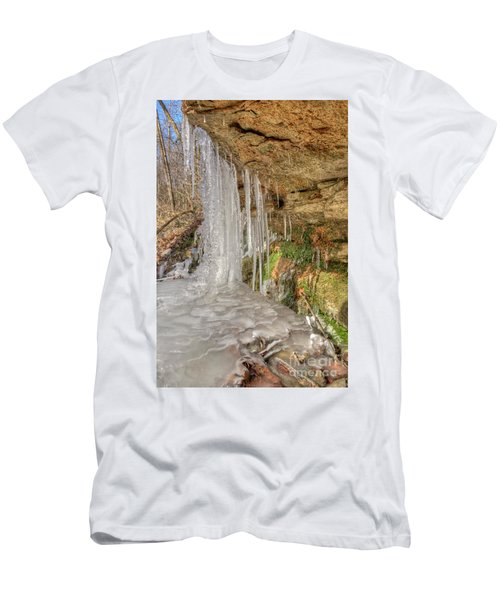 Behind The Ice Men's T-Shirt (Athletic Fit)