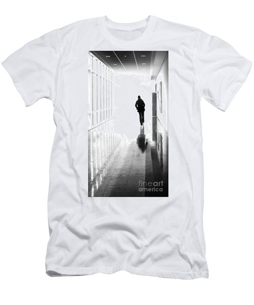 Being Alone Doesnt Mean Youre Free Men's T-Shirt (Athletic Fit)