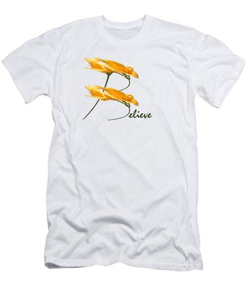 Believe Shirt Men's T-Shirt (Athletic Fit)