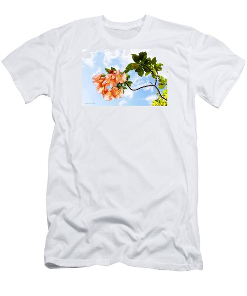 Bell Flowers In The Sky Men's T-Shirt (Athletic Fit)