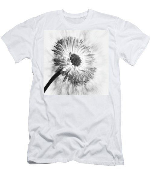 Bellis In Mono  #flower #flowers Men's T-Shirt (Athletic Fit)