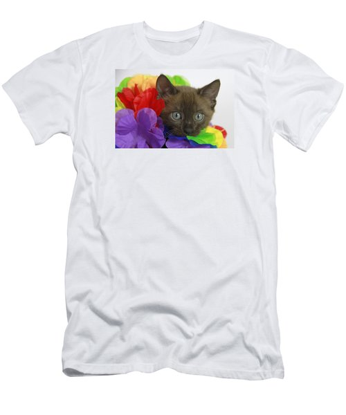 Bengal Colors Men's T-Shirt (Slim Fit) by Shoal Hollingsworth