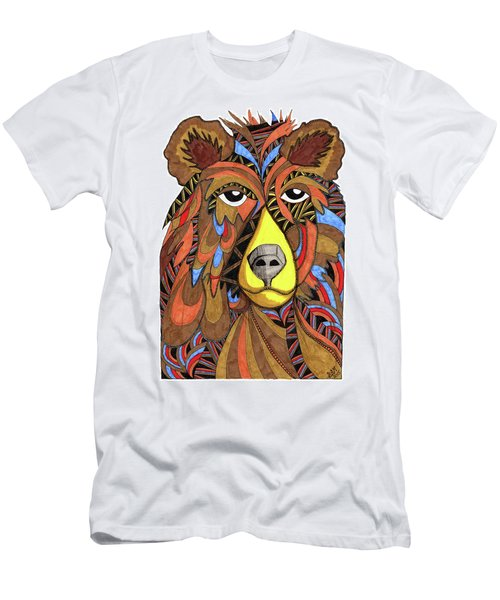 Benjamin Bear Men's T-Shirt (Athletic Fit)