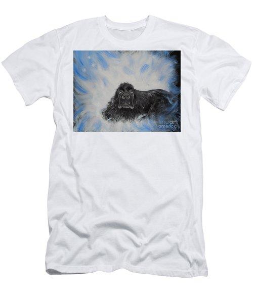 Bennies Love Men's T-Shirt (Slim Fit) by Lisa Rose Musselwhite