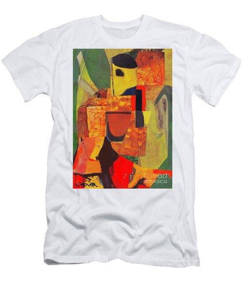 Beret Ballet Men's T-Shirt (Slim Fit) by Randall Weidner