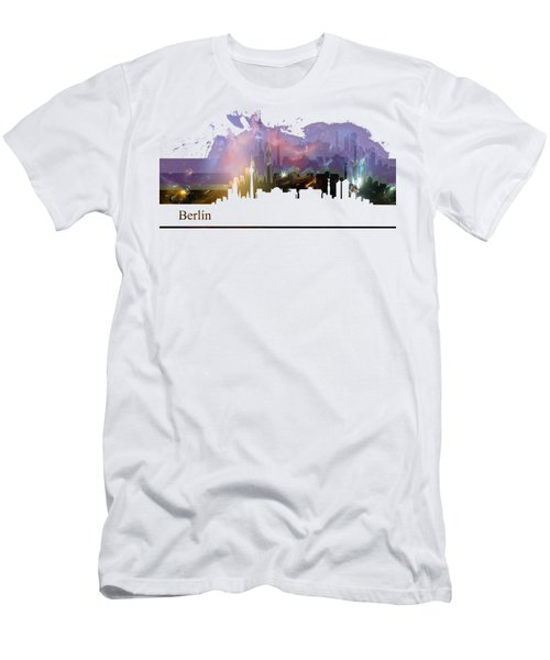 Berlin 2 Men's T-Shirt (Slim Fit) by Alberto RuiZ
