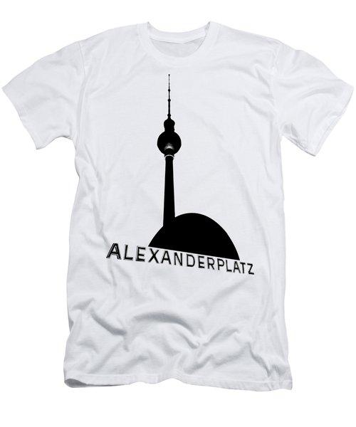 Berlin Alexanderplatz Men's T-Shirt (Slim Fit) by Julie Woodhouse
