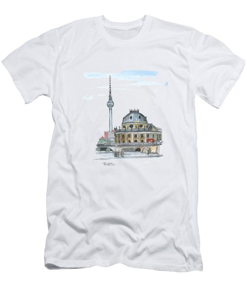 Berlin Fernsehturm Men's T-Shirt (Slim Fit)