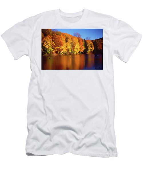Bernharts Dam Fall 008 Men's T-Shirt (Athletic Fit)