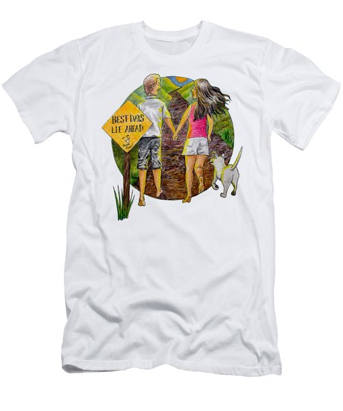 Best Days Lie Ahead Men's T-Shirt (Athletic Fit)