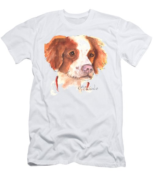 Best Dog By Kathleen Mcelwaine Men's T-Shirt (Slim Fit) by Kathleen McElwaine