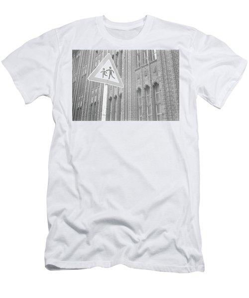 Beware Of The Children Men's T-Shirt (Athletic Fit)
