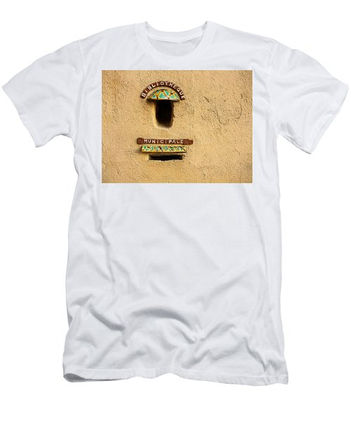 Bibliotheque Municipale Men's T-Shirt (Athletic Fit)