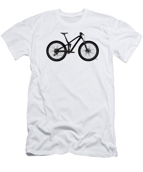 Bicycle For Fans. Original Handmade Drawing For Bikers Men's T-Shirt (Athletic Fit)