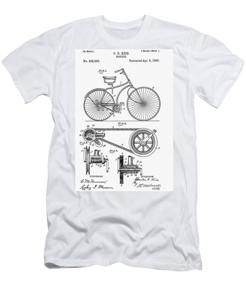 Bicycle Patent 1890 Men's T-Shirt (Athletic Fit)