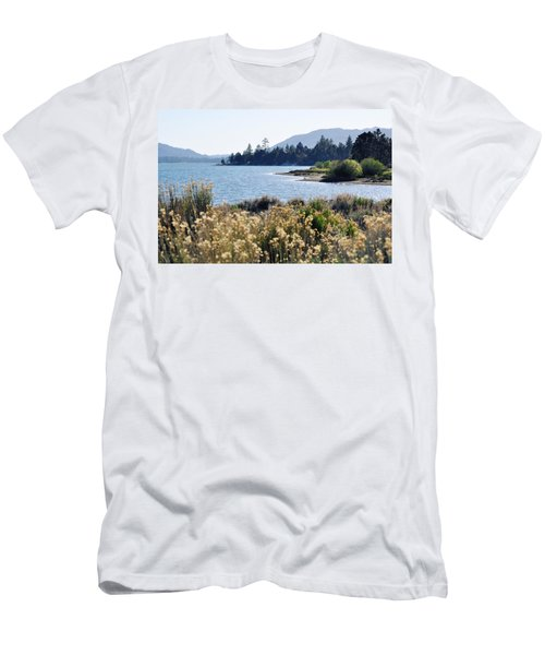 Big Bear Lake Shoreline Men's T-Shirt (Athletic Fit)