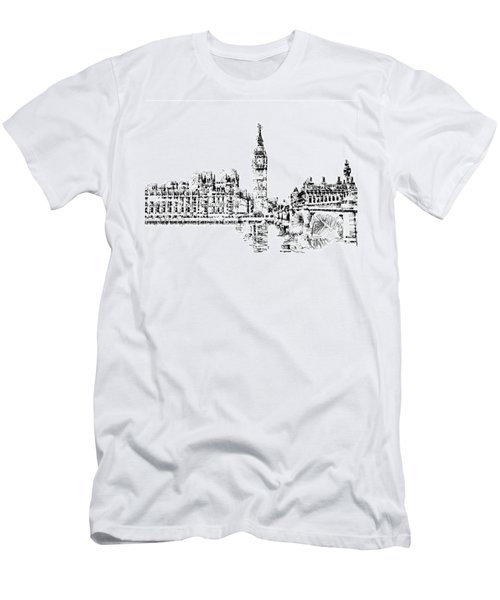 Big Ben Men's T-Shirt (Slim Fit) by ISAW Gallery