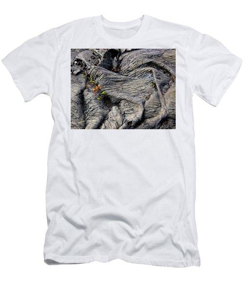 Big Island Lava Flow Men's T-Shirt (Slim Fit) by Amelia Racca