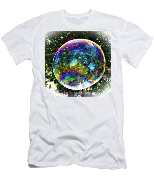 Big Soap Bubble Men's T-Shirt (Athletic Fit)
