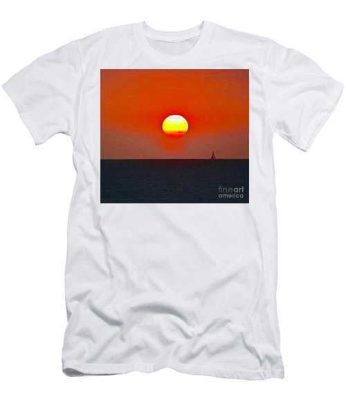Big Sun Men's T-Shirt (Athletic Fit)