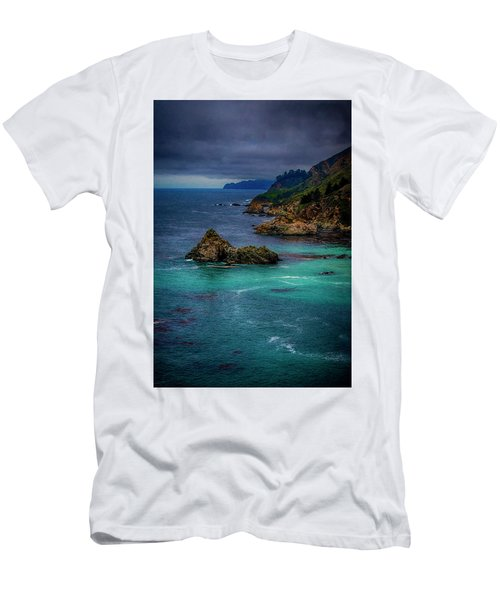 Men's T-Shirt (Slim Fit) featuring the photograph Big Sur Coastline by Joseph Hollingsworth