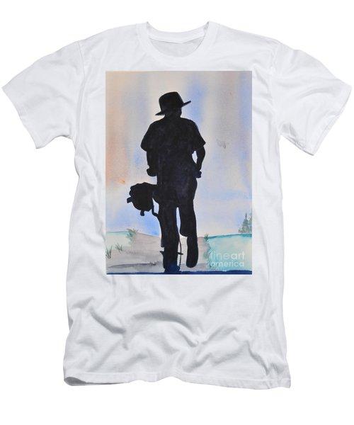Biker Men's T-Shirt (Athletic Fit)