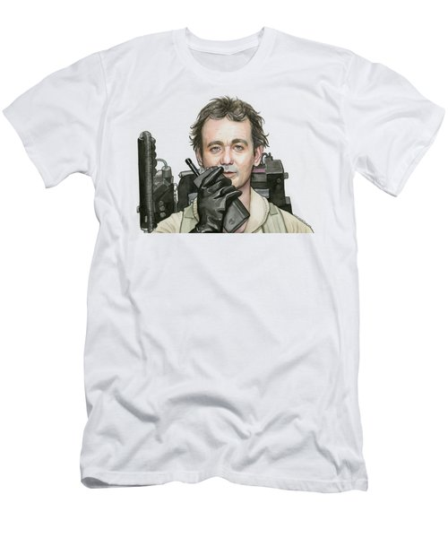 Bill Murray Ghostbusters Peter Venkman Men's T-Shirt (Athletic Fit)