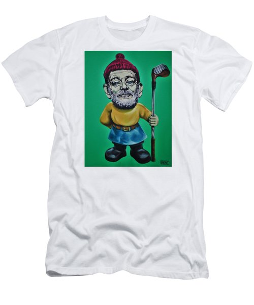 Bill Murray Golf Gnome Men's T-Shirt (Athletic Fit)