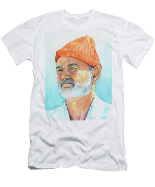 Bill Murray Steve Zissou Life Aquatic Men's T-Shirt (Athletic Fit)