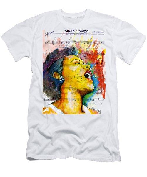 Billie's Blues Men's T-Shirt (Slim Fit) by Howard Barry